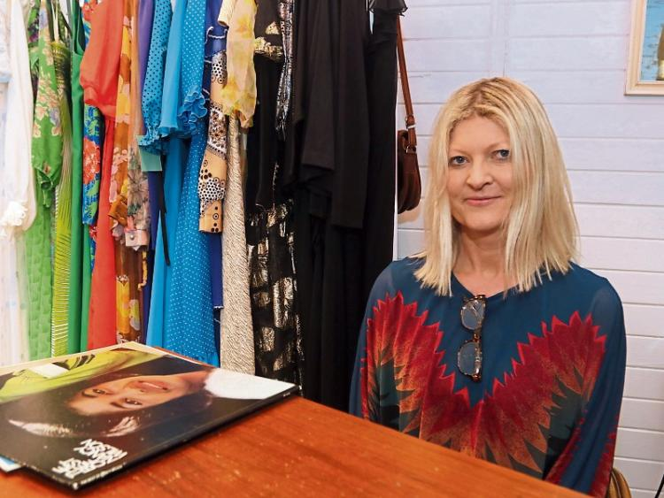 Caroline McBrearty, owner of Vito Vintage clothing store. The store has an eclectic mix of quality vintage clothes, sourced from stores across Europe. The pieces date from the 1940s up to the 1980s. Pic: Limerick Leader